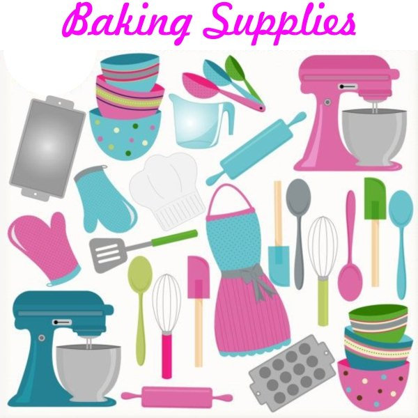 Baking Supplies Sweet and Soda