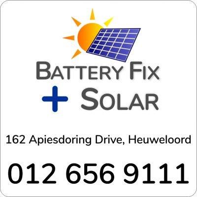 Battery Fix + Solar