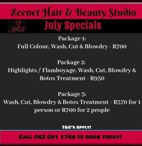 Zeenat Hair and Beauty Studio