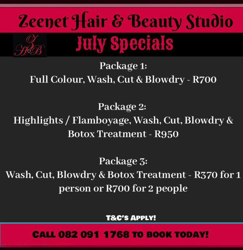 Zeenat Hair and Beauty Studio