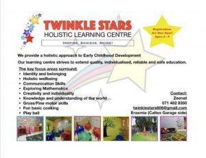 Twinkle stars Erasmia
