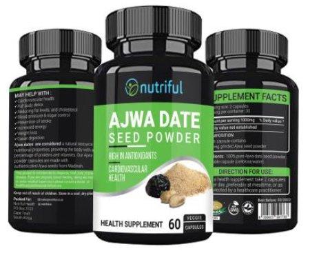 Ajwa Date Seed Powder