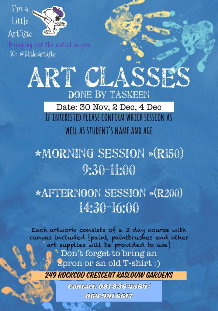 Art classes in Laudium
