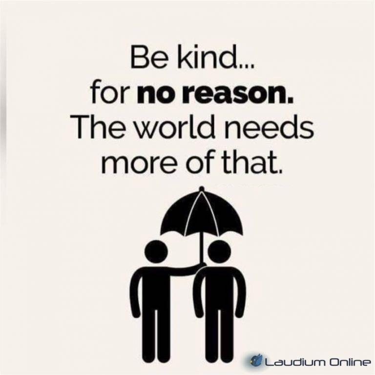 be kind laudium online