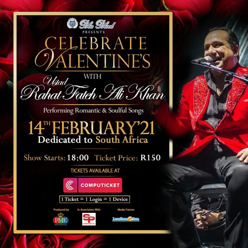 Rahet Fateh Ali Khan Concert