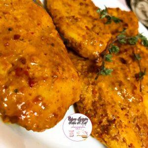 Saucy chicken fillets
