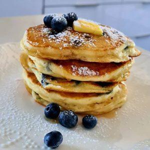 Blueberry Pancake Stack