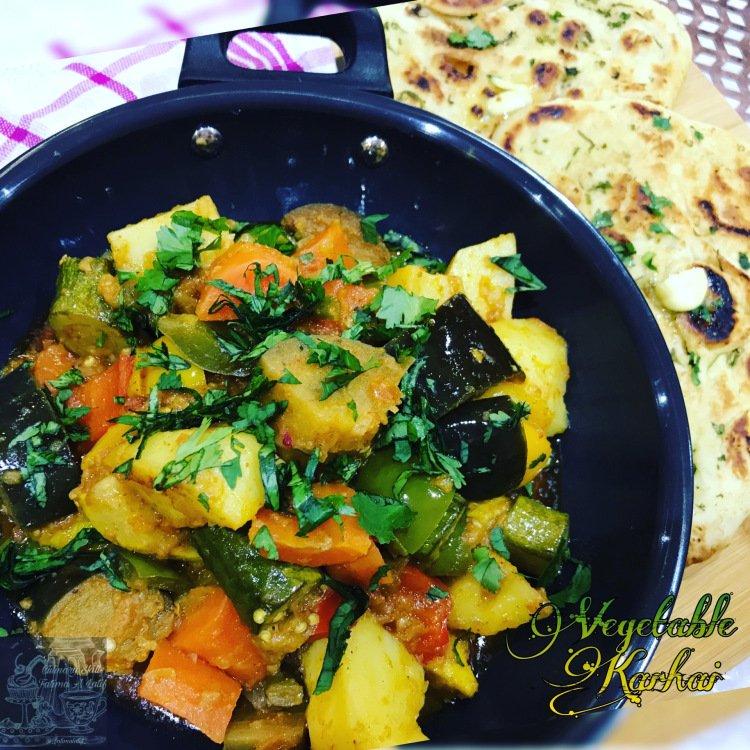 Vegetable karhai