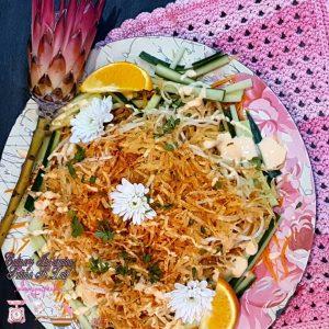 Spicy Potato & Chicken Salad