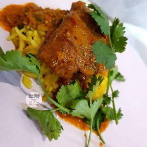Saucy Mochachos Steak With Savoury Rice