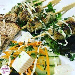 Green Pepper Lite Seekh Kebabs